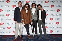 Mystery Jets<br /> at The Ivor Novello Awards 2017, Grosvenor House Hotel, London. <br /> <br /> <br /> ©Ash Knotek  D3267  18/05/2017