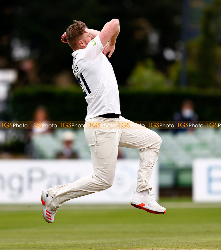 Sean Hunt bowls for Sussex during Kent CCC vs Sussex CCC, LV Insurance County Championship Group 3 Cricket at The Spitfire Ground on 14th July 2021