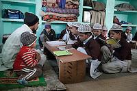 Madrasa Students, Madrasa Imdadul Uloom, Dehradun, India.