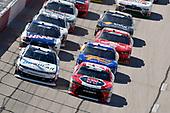 #42: Ross Chastain, Chip Ganassi Racing, Chevrolet Camaro DC Solar and #20: Christopher Bell, Joe Gibbs Racing, Toyota Camry Rheem