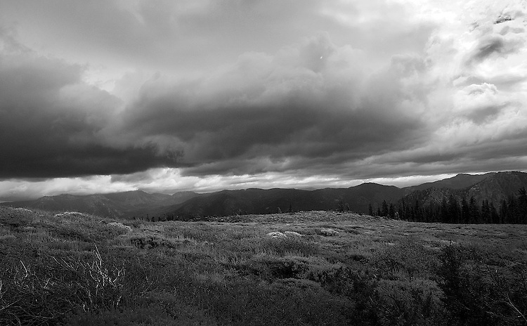 Approaching storm (Mt. Tallac Trail)