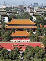 Jingshanhügel in Peking, China, Asien
