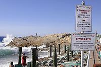 - the Marciana Marina beach (Elba island)....- la spiaggia di Marciana Marina (Isola D'Elba)