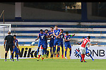 PENNANT OF TAMPINRD ROVERS TAKING THE FREE KICK during match AFCCQF1 – AFC Cup 2016 Quarter Finals<br /> JSWBENGALURUFC(IND) – JSW Bengaluru FC (India)<br /> vs<br /> TAMPINESROVERS(SIN) – Tampines Rovers (Singapore)<br /> at Kanteerava Stadium, Bangalore, Karnataka on 14th Septembar 2016.<br /> Photo by Saikat Das/Lagardere Sports