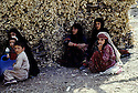 Iraq 1968 <br /> Women and children in a village  <br /> Irak 1968 <br /> Femmes et enfants dans un village