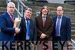 Pat Sheahan, Solicitor, Padraig Buckley, Killarney School of Music, Tadhg Buckley, Killarney School of Music and Padraig Griffin Engineer at Tralee Court on Friday.