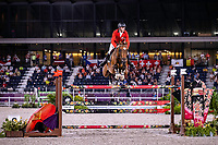 BEL-Niels Bruynseels rides Delux van T & L during the Jumping Individual Qualifier. Tokyo 2020 Olympic Games. Tuesday 3 August 2021. Copyright Photo: Libby Law Photography