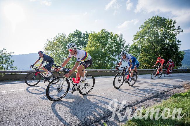 World Champion Mads Pedersen (DEN/Trek-Segafredo)<br /> <br /> Stage 16 from La Tour-du-Pin to Villard-de-Lans (164km)<br /> <br /> 107th Tour de France 2020 (2.UWT)<br /> (the 'postponed edition' held in september)<br /> <br /> ©kramon