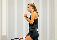 Amstelveen, Netherlands, 14  December, 2020, National Tennis Center, NTC, NK Indoor, National  Indoor Tennis Championships, Qualifying:  Marente Sijbesma (NED)<br /> Photo: Henk Koster/tennisimages.com
