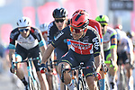 Caleb Ewan (AUS) Lotto-Soudal wins Stage 7 of the 2021 UAE Tour running 165km from Yas Island to Abu Dhabi Breakwater, Abu Dhabi, UAE. 27th February 2021.<br /> Picture: LaPresse/Fabio Ferrari   Cyclefile<br /> <br /> All photos usage must carry mandatory copyright credit (© Cyclefile   LaPresse/Fabio Ferrari)