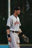 Billy Rowell #11 of the Frederick Keys playing 3rd base during a game against the Myrtle Beach Pelicans on May 1, 2010 in Myrtle Beach, SC.