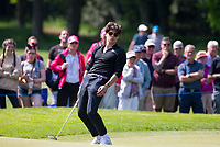 Bradley Simpson (Singer / VAMPS) during the BMW PGA PRO-AM GOLF at Wentworth Drive, Virginia Water, England on 23 May 2018. Photo by Andy Rowland.