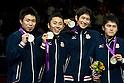 2012 Olympic Games - Fencing - Men's Team Foil medal ceremony