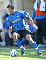 24 October 2004: Ian Russell of Earthquakes in action against Wizards at Spartan Stadium in San Jose, California.   Earthquakes defeated Wizards, 2-0.  Credit: Michael Pimentel / ISI