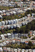 aerial photograph Diamond Heights residential neighborhood San Francisco California