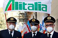 20210330 Manifestazione dei lavoratori di Alitalia