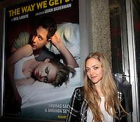 05-17-15 Amanda Seyfried & Thomas Sadoski - The Way We Get By - NYC