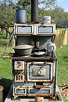 Heritage Days Festival. Union County. Old Home Comfort cook stove.