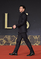 """British actor Richard Madden arrives on the red carpet for the screening of the film """"Eternals at the 16th edition of the Rome Film Fest in Rome, on October 24, 2021.<br /> UPDATE IMAGES PRESS"""