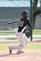 Hector Gomez, Colorado Rockies 2010 minor league spring training..Photo by:  Bill Mitchell/Four Seam Images.