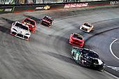 #18: Kyle Busch, Joe Gibbs Racing, Toyota Supra Juniper, #28: Shane Lee, H2 Motorsports, Toyota Supra Tamron