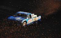 Dec. 10, 2011; Chandler, AZ, USA;  LOORRS pro 2 unlimited driver Robby Woods (99) during round 15 at Firebird International Raceway. Mandatory Credit: Mark J. Rebilas-