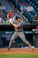 Lehigh Valley IronPigs first baseman Matt McBride (30) at bat during a game against the Buffalo Bisons on June 23, 2018 at Coca-Cola Field in Buffalo, New York.  Lehigh Valley defeated Buffalo 4-1.  (Mike Janes/Four Seam Images)