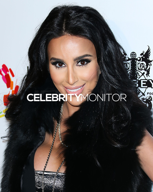 LOS ANGELES, CA, USA - OCTOBER 14: Lilly Ghalichi arrives at the Marco Marco: Collection Three 2015 Runway Presentation held at the Viviana Cathedral on October 14, 2014 in Los Angeles, California, United States. (Photo by Xavier Collin/Celebrity Monitor)