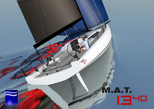 MAT 1340 unveiled - this 44' IRC special is the result of an extensive R&D phase aimed at optimising under IRC both inshore and offshore.