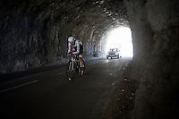 Frank Schleck (LUX/Trek-Segafredo)<br /> <br /> stage 13 (ITT): Bourg-Saint-Andeol - Le Caverne de Pont (37.5km)<br /> 103rd Tour de France 2016