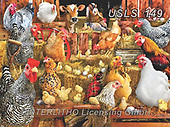 Lori, LANDSCAPES, LANDSCHAFTEN, PAISAJES, paintings+++++Chickens Puzzle_2019_13_10inn_72_10_2019,USLS149,#l#, EVERYDAY ,puzzle,puzzles