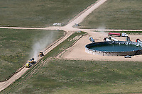 Natural gas infrastructure constuction, Weld County, Colorado. Aug 2014. 812926