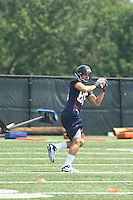 Paul Freedman during open spring practice for the Virginia Cavaliers football team August 7, 2009 at the University of Virginia in Charlottesville, VA. Photo/Andrew Shurtleff