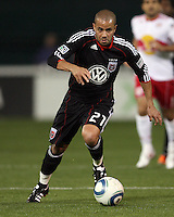 of D.C. United during an MLS match against the New York Red Bulls at RFK Stadium, in Washington D.C. on April 21 2011. Red Bulls won 4-0.