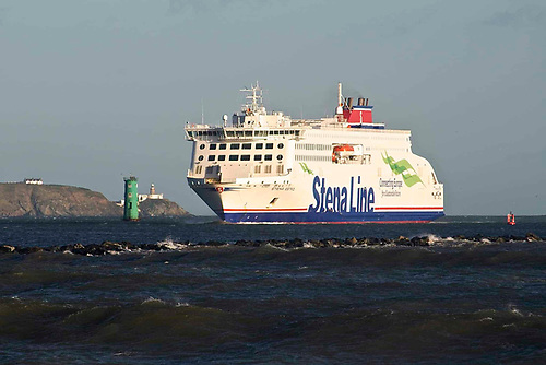 Stena Estrid will provide two daily return crossings each way between Holyhead and Dublin