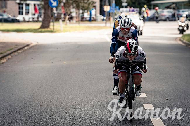 Juraj Sagan (SVK/BORA-hansgrohe tucked in in front of the breakaway group<br /> <br /> 60th De Brabantse Pijl 2020 - La Flèche Brabançonne (1.Pro)<br /> 1 day race from Leuven to Overijse (BEL/197km)<br /> <br /> ©kramon