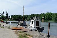 Hafen in Juodkrante auf der kurischen Nehrung, Litauen, Europa