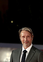 """Danish actor Mads Mikkelsen poses on the red carpet for the screening of the film """"Druk"""" during the 15th Rome Film Festival (Festa del Cinema di Roma) at the Auditorium Parco della Musica in Rome on October 20, 2020.<br /> UPDATE IMAGES PRESS/Isabella Bonotto"""
