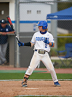 Barron Collier Cougars Mason Ceccarelli (2) during the IMG National Classic on March 29, 2021 at IMG Academy in Bradenton, Florida.  (Mike Janes/Four Seam Images)
