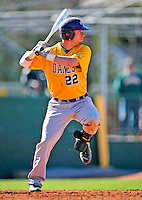 19 April 2009: University at Albany Great Danes' infielder Pete Eichner, a Junior from Pine Bush, NY, in action against the University of Vermont Catamounts at Historic Centennial Field in Burlington, Vermont. The Great Danes defeated the Catamounts 9-4 in the second game of a double-header. Sadly, the Catamounts are playing their last season of baseball, as the program has been marked for elimination due to budgetary constraints on the University. Mandatory Photo Credit: Ed Wolfstein Photo