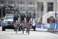 Vasil Kiryienka (BLR/SKY) leading his teammates into the last kilometer<br /> <br /> Elite Men's Team Time Trial<br /> UCI Road World Championships Richmond 2015 / USA