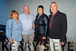 Noreen and Tom O'Connor, Frances and John Griffin enjoying the evening in Cassidys on Saturday.