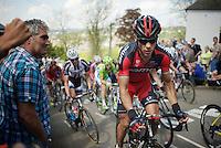 Philippe Gilbert (BEL/BMC) up the Mur de Huy (max 17%)<br /> <br /> La Flèche Wallonne 2014