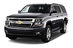 Front three quarter view of a 2015 Chevrolet Suburban 2WD 1500 LT 5 Door SUV