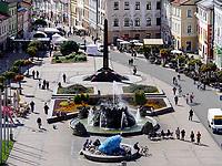 Hauptplatz nam.SNP in Banska Bystrica, Banskobystricky kraj, Slowakei, Europa<br /> Main square nam. SNP  in Banska Bystrica, Banskobystricky kraj, Slovakia, Europe