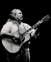 1989 FILE PHOTO - ARCHIVES -<br /> <br /> David Crosby; whose survival and comeback appeal to older fans and make him a guru to youngsters; is the soul of Crosby; Stills and Nash.