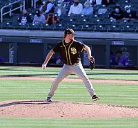 Mason Thompson - San Diego Padres 2021 spring training (Bill Mitchell)