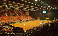 14-sept.-2013,Netherlands, Groningen,  Martini Plaza, Tennis, DavisCup Netherlands-Austria, Doubles,   Overall view<br /> Photo: Henk Koster
