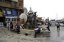 Iraq 2011 <br />    A fountain in the center of Erbil   <br /> Irak 2011 <br /> Une fontaine dans le centre d'Erbil