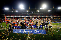 Oslo, 20091108. Cupfinalen, Molde-Aalesund. Aalesund Norgesmestere.